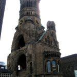 the kaiser wilhelm church berlin germany