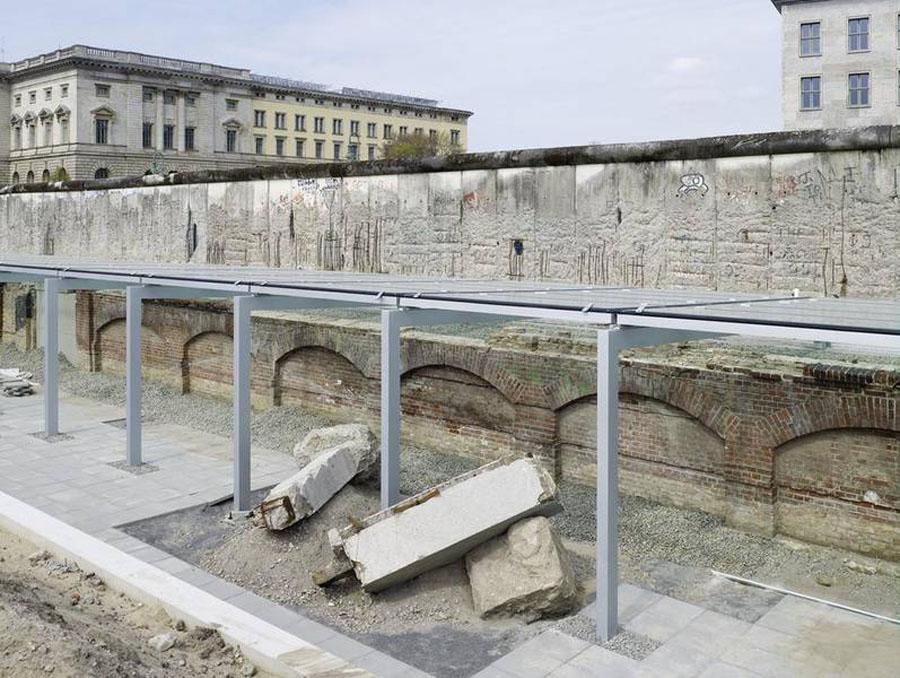 Berlin Topographie des Terrors Ausstellungsgraben