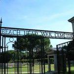 beachhead cemetery