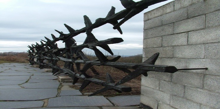 The Concentration camp in Mauthausen, Austria.