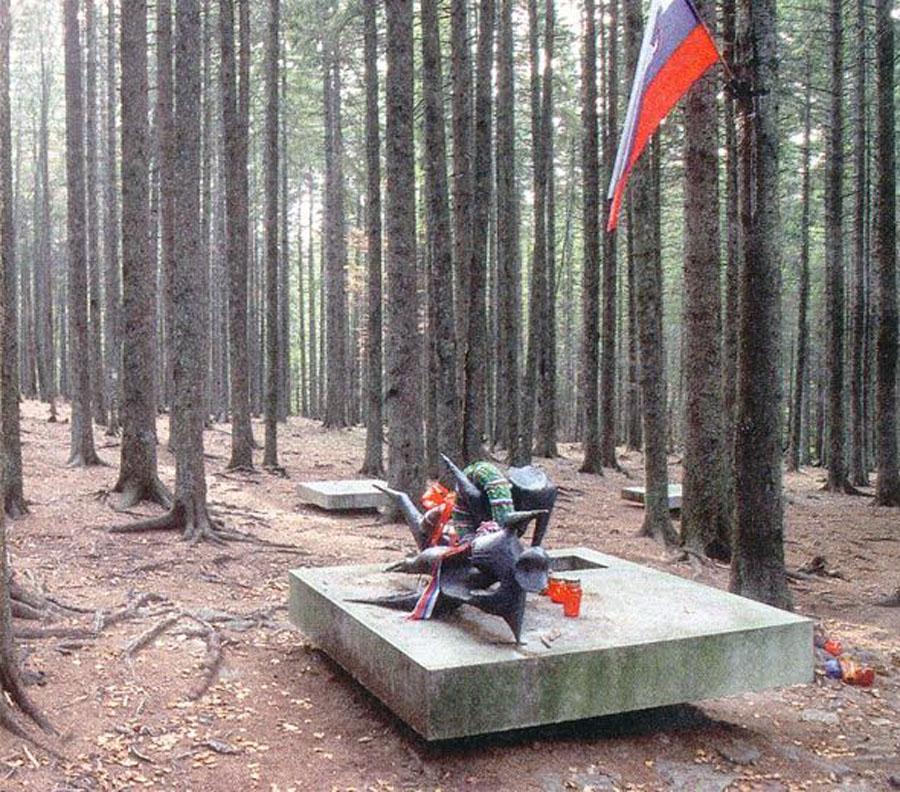pohorski bataljon spomenik