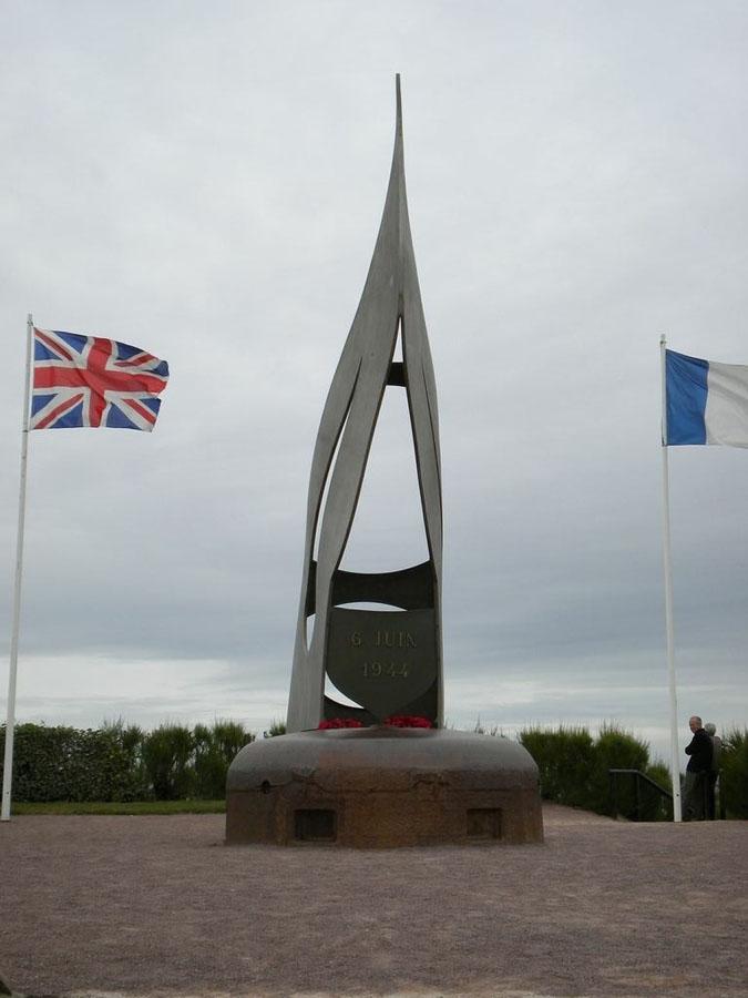 Normandy – Sword Beach Memorial | War Traveller
